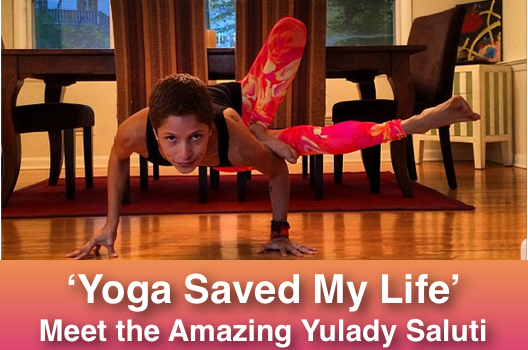 Yoga Saved My Life