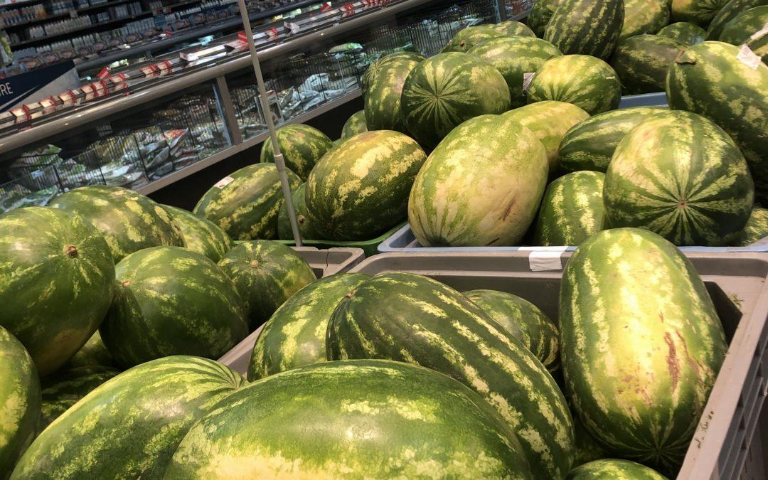 Watermelons : 29c per Kg