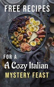 FREE RECIPES for Cozy Readers